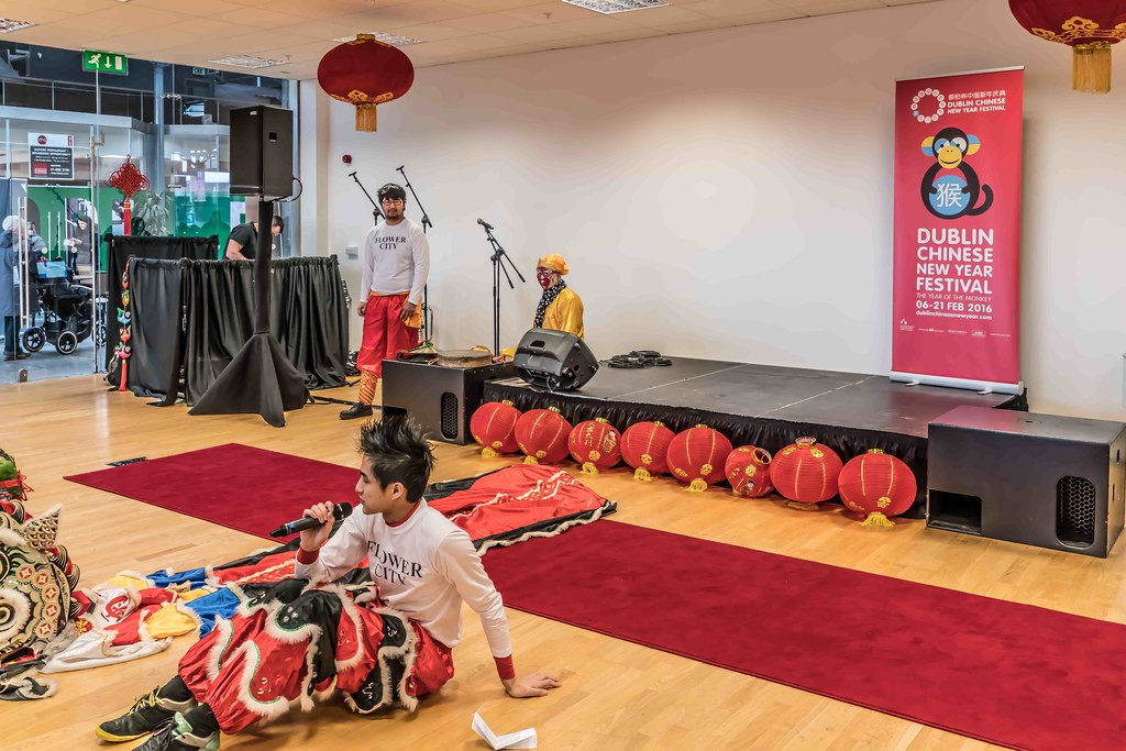 CHINESE COMMUNITY IN DUBLIN CELEBRATING THE LUNAR NEW YEAR 2016 [YEAR OF THE MONKEY]-111560