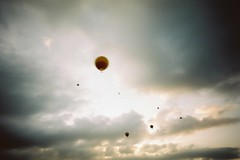(hari.kawara) Tags: sky film balloon pinhole zero zero69