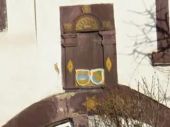 Enzberg-Wappen ber der Haustre (thobern1) Tags: germany wappen badenwrttemberg insigna enz enzkreis enzberg