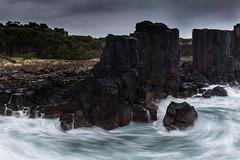 Early morning Bombo || Kiama {Explore 106, 2016/01/24} (David Marriott - Sydney) Tags: ocean sea rock dawn au wave australia newsouthwales kiama quarry bombo