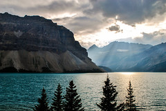 Moraine Lake (E.Clerc) Tags: light canada nature water clouds landscape lakemoraine