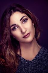 Lucrezia (orma_marco) Tags: portrait woman color girl beauty fashion female ritratto retouching ritocco lampista strobist
