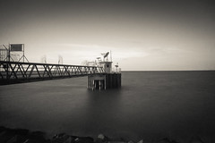 Weather Station (Syafiq87) Tags: bw monochrome landscape weldingglass a5000 bigstopper