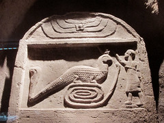 Kom Ombo Crocodile Sculptures (shaire productions) Tags: world old travel art history animal temple photo image egypt picture culture carving photograph egyptian crocodile mythology sculptures cultural ancientegypt komombo