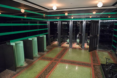 Hermitage Hotel - Green Art Deco Urinals (Globalviewfinder) Tags: city music usa green art america hotel nashville tennessee south united country broadway southern fancy states hermitage deco urinals toilets loos