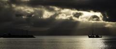 IMA_3498 Homeward Bound (foxxyg2) Tags: light sea sky storm water boats fishing aegean greece greekislands paros cyclades islandhopping islandlife pisolivadi