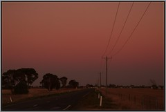 Back Towards Horsham (florahaggis) Tags: trees sky colour canon australia victoria february horsham farmlands mtarapiles pc3400 wimmera cloudsstormssunsetssunrises wimmerahighway