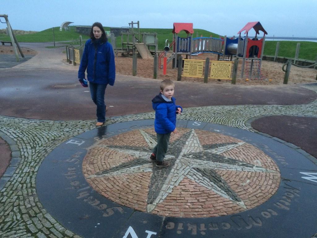 Alex & Cath at Monifieth Beach Park