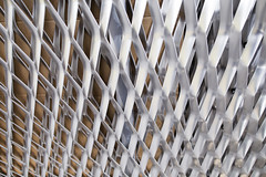 (themodulorman) Tags: architecture germany deutschland construction aluminum mesh process materials expandedmetal anodize hudsonyards clearanodized 30hudsonyards 30hy