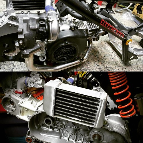 Another on going project for #2016 261cc watercooled #turbo #zuma