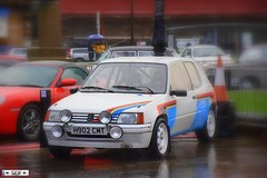 Peugeot 205 GTI Rally Paisley Scotland 2016 (seifracing) Tags: rescue france cars car french scotland europe cops traffic transport scottish voiture vehicles event carlo monte van emergency paisley peugeot spotting services recovery voitures 205 ecosse 2016 seifracing
