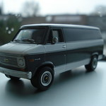 1977 Chevy G20 Van w/ Rear Tow Hitch