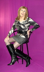 Feb 2016 (13) (Rachel Carmina) Tags: tv boots cd tranny transvestite heel crossdresser trap tg tgir femboi