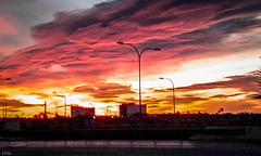 20160210_073610 (ibzsierra) Tags: cloud sun sol sunrise dawn trabajo movil samsung amanecer ibiza eivissa telefono nube baleares
