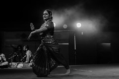 Stance | Bharatanatyam Artist (vjisin) Tags: blackandwhite india black art monochrome dance asia artist bright background chennai bharatanatyam indianwoman femaleartist incredibleindia eventphotography indianheritage mychennai indiandancefestival2016