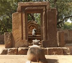 Nandi and Shiv (magicallights) Tags: india heritage caves karnataka carvings badami southindia incredibleindia badamicaves