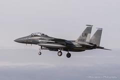 RAF Lakenheath F15 (Dave Spencer.) Tags: usa plane canon fighter 7d airforce usaf 70200mm f15 lakenheath davespencer raflakenheath canon7d ef70200mmf28lisiiusm