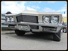Buick Riviera GS, 1971 (v8dub) Tags: auto old classic car schweiz switzerland 1971 buick automobile riviera suisse automotive voiture american oldtimer oldcar gs collector wagen pkw klassik châtelstdenis worldcars