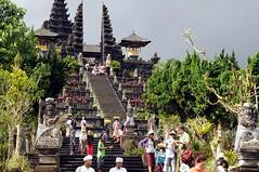Besakih - Aufgang zum Mutter-Tempel Balis; Indonesien (5) (Chironius) Tags: bali indonesia besakih indonesien