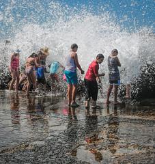 1265 Summer fun ll (Rmonty119) Tags: travel water fun wave lightroom 1740mml canon5dlll