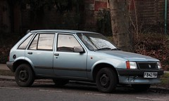 F842 PNM (Nivek.Old.Gold) Tags: nova 1989 vauxhall 5door 12l