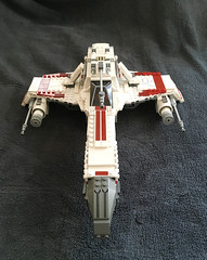 IMG_1247 (lee_a_t) Tags: starwars fighter lego xwing spaceship ewing rebels starfighter darkempire legoxwing legostarfighter legoewing