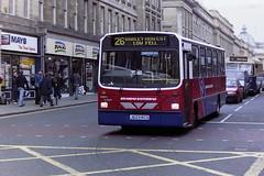 GO AHEAD GATESHEAD 8023 J623KCU (bobbyblack51) Tags: ahead newcastle all go transport gateshead wright 1995 dennis dart types handybus 8023 of j623kcu