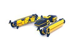 Underwater Explorer (zaaking511) Tags: water boat underwater lego sub explorer craft submarine watercraft 2016