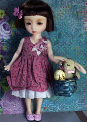 Easter Alice (bentwhisker) Tags: bunny easter doll mona resin dollmore 8118
