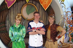 Tinker Bell, Me & Terence at Pixie Hollow in Disneyland (GMLSKIS) Tags: california disney amusementpark anaheim disneyland pixiehollow fairy tinkerbell terence georgelandis