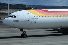 Iberia, A340-600, EC-IOB, Madrid (chris77w) Tags: madrid mad iberia a340600 t4s avgeek ib6844