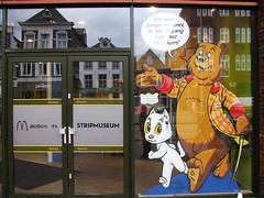 Stripmuseum (streamer020nl) Tags: city holland netherlands museum tom cat comics town kat chat nederland exhibition years katze nl groningen 75 puss paysbas poes strips 1941 stad bommel jaar niederlande expositie 2016 stripmuseum toonder stripverhaal 230316