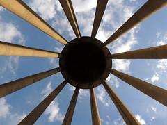 Black hole Sun over Ibn Sina tomb (Germn Vogel) Tags: travel sky tourism grave circle shrine iran traditional tomb columns middleeast center mausoleum convergence hamedan sina philosopher ibn polymath avicenna islamicrepublic