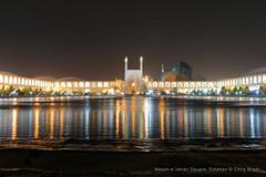 Naqsh-e Jahan Square, Esfahan (Chris Brady 737) Tags: square iran mosque esfahan isfahan shah jahan naqshe
