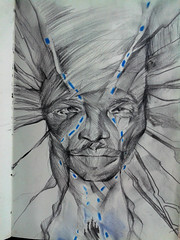 olokun (Shakti Gomes) Tags: africa city blue sea black water dark mar god undersea deity depths mistery orisha psique yemanja orixá olokun yorubá