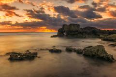 (Anto Camacho) Tags: sun seascape sunshine clouds sunrise mexico mar rocks colours caribbean islamujeres caribe quintanaroo largaexposicion longexpoure bigstopper