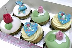 Cath Kidston Cupakes (birdbakes) Tags: birthday cupcakes cathkidston