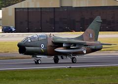 A-7 Corsair (Bernie Condon) Tags: uk tattoo plane greek flying fighter display aircraft aviation military airshow corsair bomber a7 warplane airfield ffd fairford riat haf raffairford airtattoo