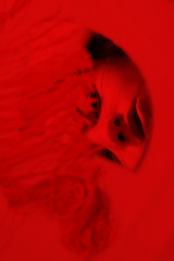 Cherry (MitikaFe) Tags: china red portrait selfportrait art colors beautiful face myself photography photo eyes makeup lips