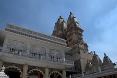 Temple Spires (VinayakH) Tags: india religious temple delhi hindu hinduism chattarpur katyayani