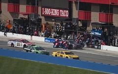 Jimmie Johnson Lowe's Racing pitstop, Fontana (alsib) Tags: nascar pitstop fontana jimmiejohnson lowesracing autoclubspeedway