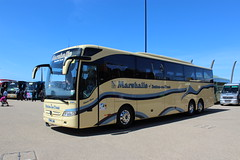 PM16JAM Marshalls at UK Coach Rally 2016 in Blackpool (2 of 2)(Nearside View) (j.a.sanderson) Tags: mercedes benz coach marshalls blackpool coaches tourismo mb104 suttonontrent pm16jam