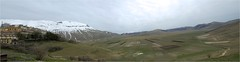 Piano Grande (Senaid) Tags: italy holiday snow mountains nikon prairie plain umbria hilltown castelluccio d600 sibillini pianogrande casteluccio dubhard