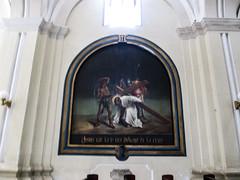 """Léon: un des tableaux illustrant le chemin de croix <a style=""""margin-left:10px; font-size:0.8em;"""" href=""""http://www.flickr.com/photos/127723101@N04/26020659124/"""" target=""""_blank"""">@flickr</a>"""