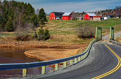 Country Roads (sminky_pinky100 (In and Out)) Tags: travel bridge canada tourism river landscape outdoors novascotia bend scenic curve redbarns rpad omot cans2s waltonarea
