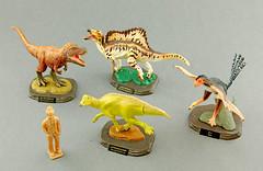 """ The Dinosaur Expo 2016 "" by Kaiyodo (RobinGoodfellow_(m)) Tags: dinosaur expo rex qi yi tyrannosaurus kaiyodo 2016 parasaurolophus spinosaurus"