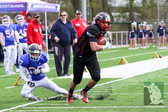 "GFL Juniors Dortmund Giants vs. Düsseldorf Panthers 09.04.2016 014.jpg • <a style=""font-size:0.8em;"" href=""http://www.flickr.com/photos/64442770@N03/26057859310/"" target=""_blank"">View on Flickr</a>"