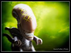 Acid Rain (Puffer Photography) Tags: stilllife toys utah alien actionfigures movies minifigs alienvspredator bountiful 2016