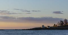 (amy20079) Tags: ocean morning sea panorama seascape clouds maine newengland oceanside land shack willardbeach nikond5100