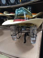 Cowboy Drink (Brave Heart) Tags: cowboy forsale display costco booze cowboyhat shotglass cowboydrink